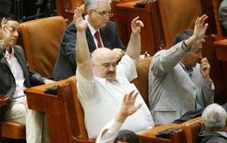 Preşedintele României, jucăria Parlamentului