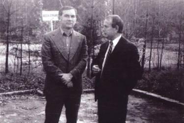 Laurenţiu Ulici şi Marcel Mureşeanu